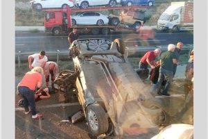 2018 agustos kaza 300x200 - Sivrihisar Yakınlarında Kaza