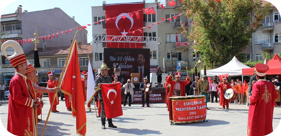 98. yil mehter - Sivrihisar'ın Düşman İşgalinden Kurtuluşu Törenlerle Kutlandı
