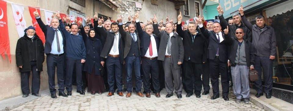 BBP kongresi - Büyük Birlik Partisi Sivrihisar İlçe Kongresi Yapıldı