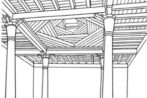 ahsap tavanli camiler 300x200 - Bindirme Tavanlı Camiler
