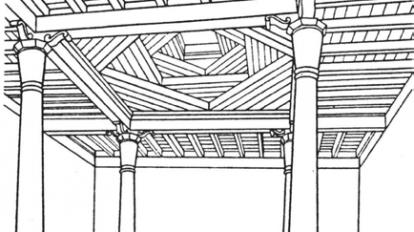 ahsap tavanli camiler 414x232 - Bindirme Tavanlı Camiler