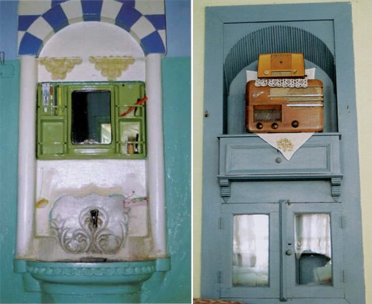 anci lavabo dolap - Türkay Konağı (Ancılar Evi)