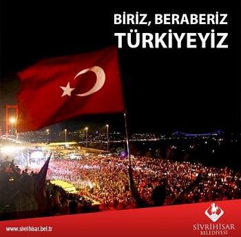 biriz beraberiz turkiyeyiz - Sivrihisar Belediyesi Haberleri