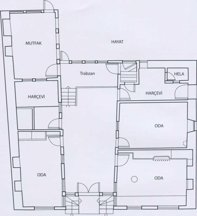 boyacilar evi plan - Boyacılar Evi