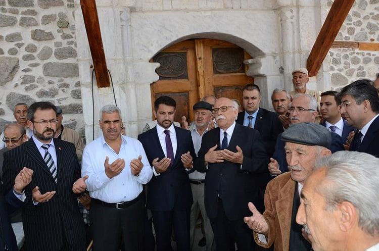 cami acilis01 - Ulu Cami İbadet Açılışı