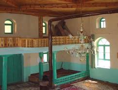 candir cami - Bindirme Tavanlı Camiler