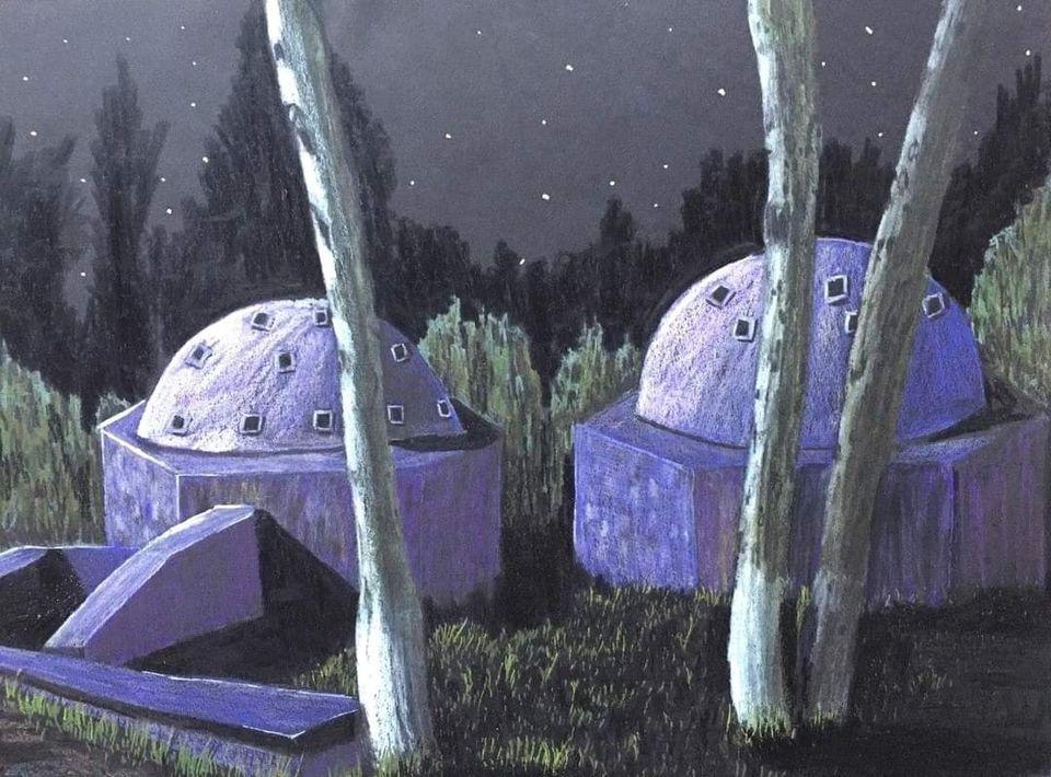 cardak hamam rus ressam - Çardak Hamamı