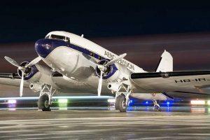 dc3 ucak 300x200 - DC-3 Sivrihisar'a Geliyor