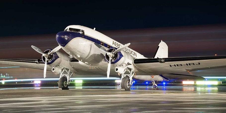 dc3 ucak - DC-3 Sivrihisar'a Geliyor
