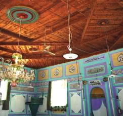 demirci cami - Bindirme Tavanlı Camiler