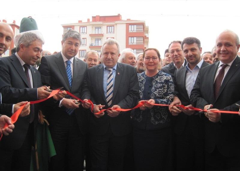 dernek acilisi - Yeni Dernek Binası Açılışı