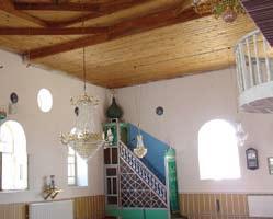 elcik cami - Bindirme Tavanlı Camiler