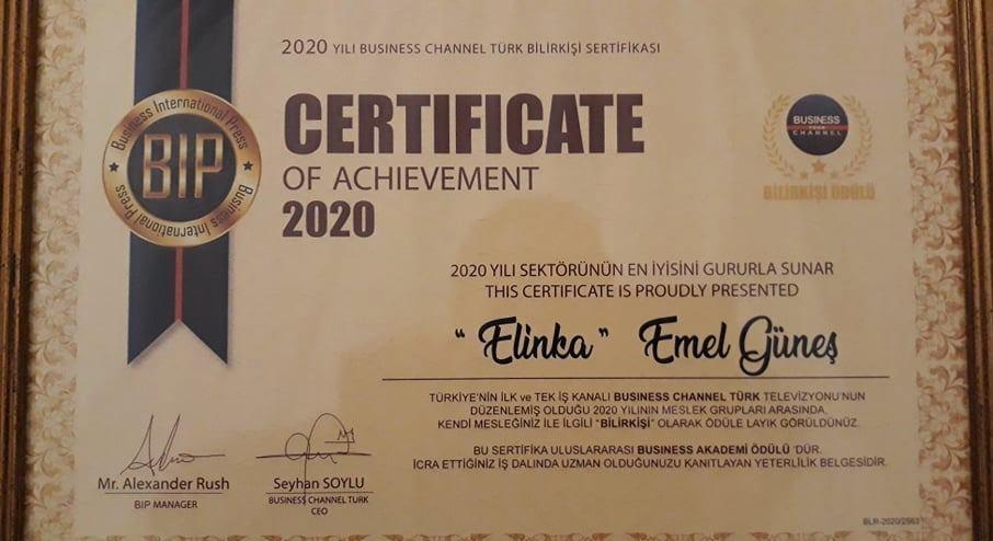 emel gunes sertifika - Emel Güneş Kimdir