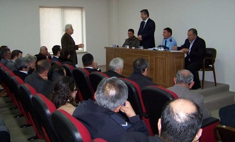 guvenlik toplanti - Sivrihisar'da Güvenlik Toplantısı Yapıldı