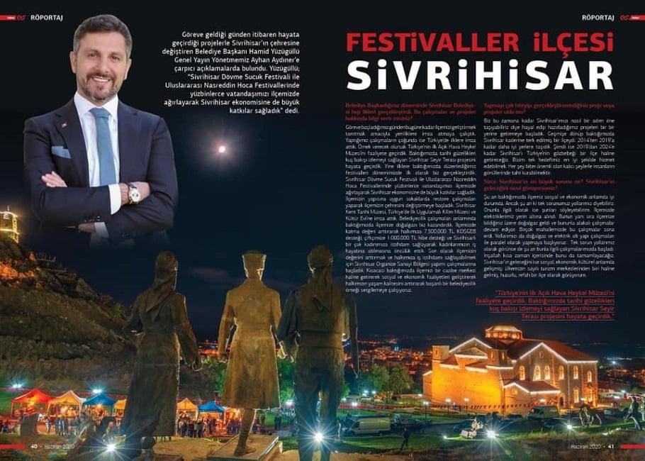 haber es dergi - Festivaller İlçesi Sivrihisar