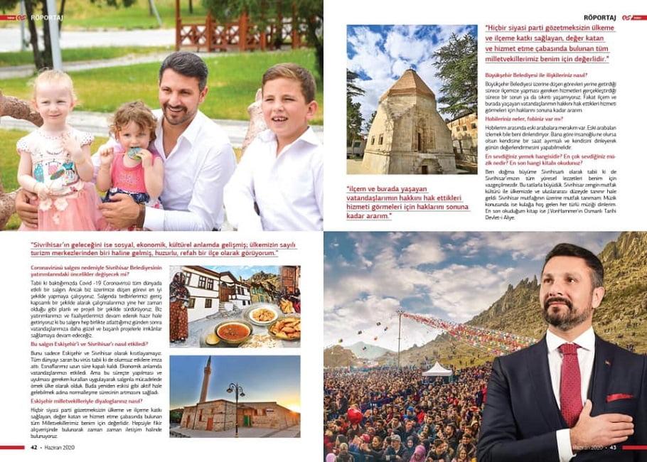 haberes dergi roportaj - Festivaller İlçesi Sivrihisar
