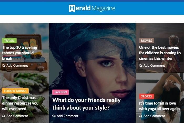 herald theme - Herald Theme