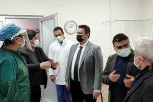 il saglik muduru ziyareti 300x200 - Sağlık Kuruluşları Ziyareti