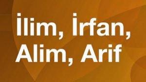 ilim irfan 300x168 - Müderris Ali Feyzi Efendi
