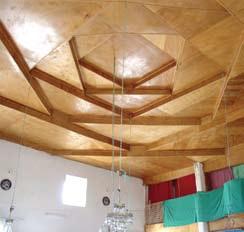 karaburhan cami - Bindirme Tavanlı Camiler