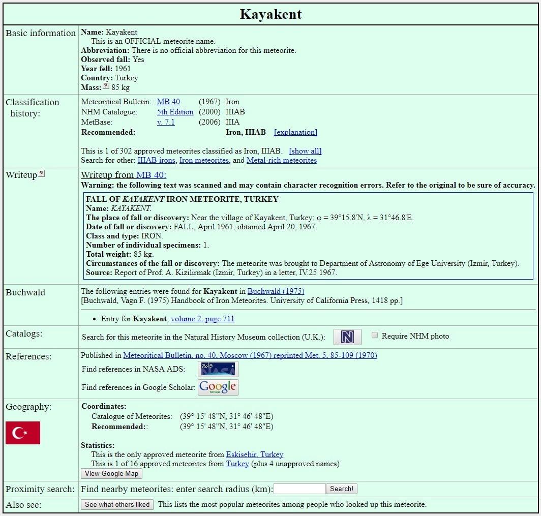 kayakent metoor tas - Kayakent