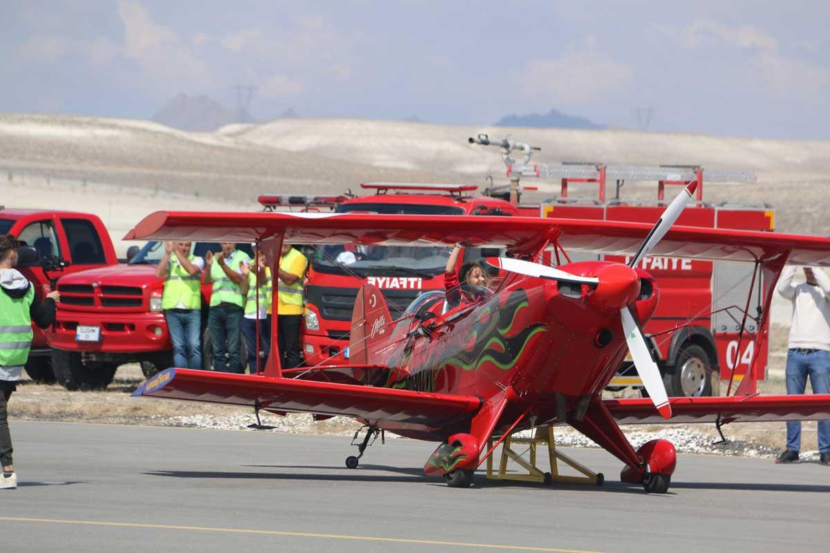 kokpit 1 - 35 bin Havacı Sivrihisar'da