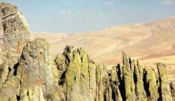 kuleler - Sivrihisar Kayalıkları