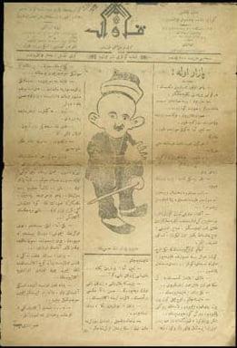 musavver gaz - Eskişehir'de ilk Mizah Gazetesi