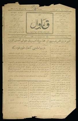 musavver kaval - Eskişehir'de ilk Mizah Gazetesi