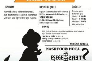 nasreddin hoca deneme yarismasi 300x200 - Nasreddin Hoca Deneme Yarışması
