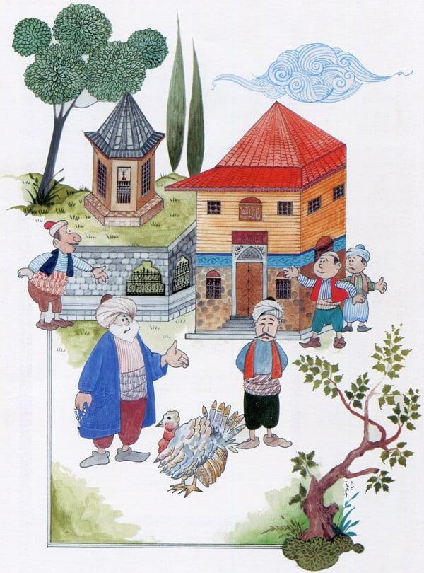 nasreddin hoca minyatur dusunen hindi - Nasreddin Hoca Minyatürleri