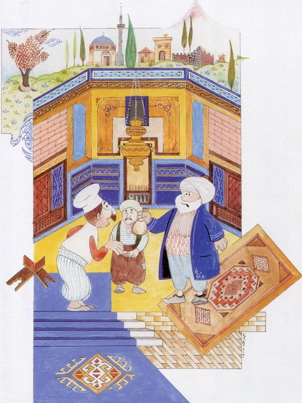 nasreddin hoca minyatur paranin sesi - Nasreddin Hoca Minyatürleri