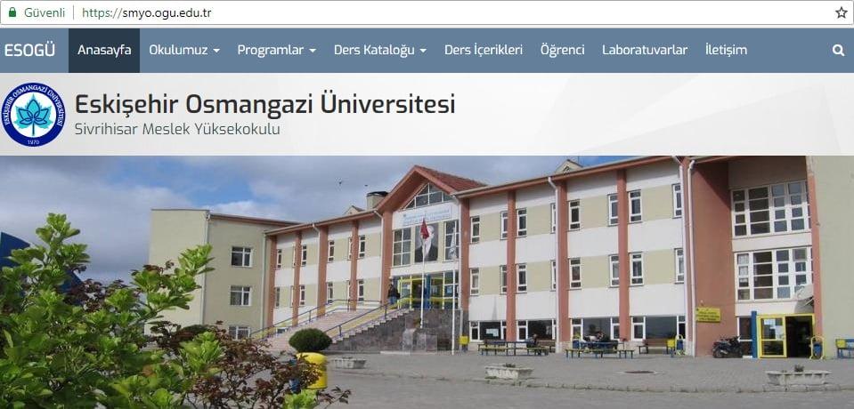 ogu symo - Osmangazi Üniversitesi Sivrihisar Meslek Yüksekokulu