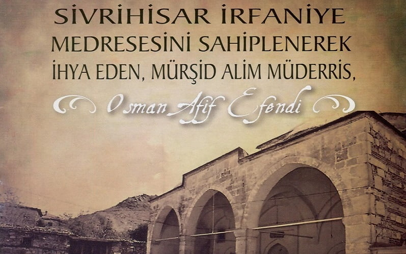 osman afif efendi kulliyesi - Osman Afif Efendi