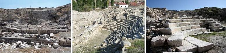 pessinus tiyatro - Antik Pessinus Kenti