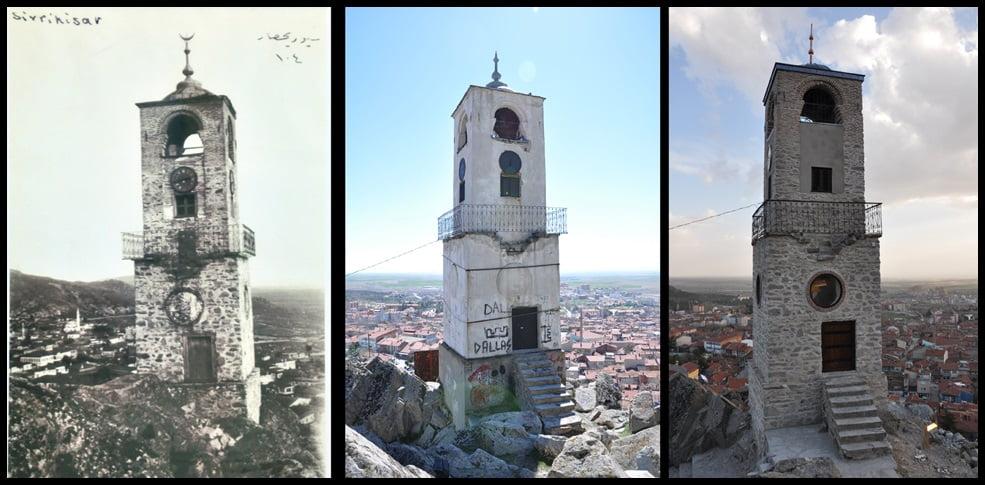 saat kulesi eski - Sivrihisar Saat Kulesi