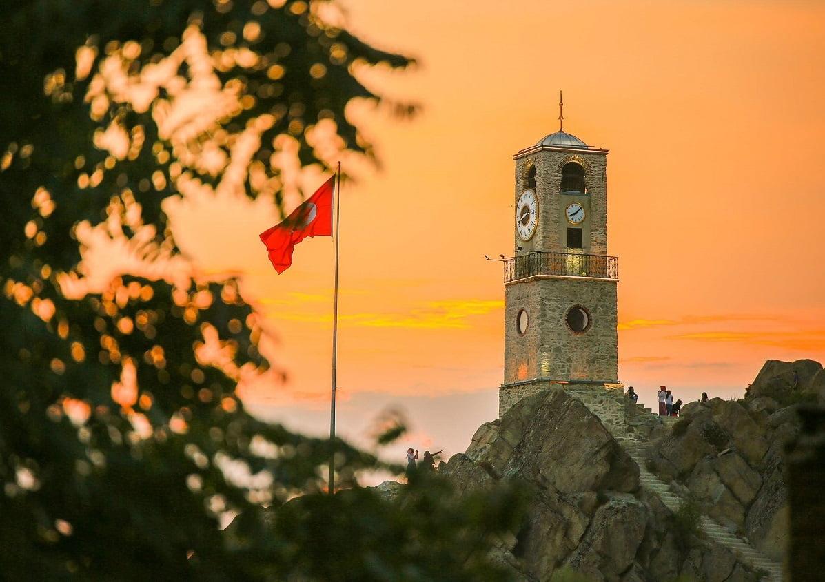 saat kulesi - Sivrihisar Saat Kulesi