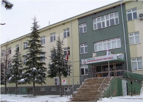 sivhast - Sivrihisar Devlet Hastanesine Yeni Hizmet Binası