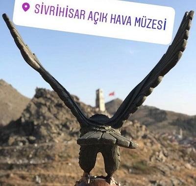 sivrihisar acik hava muzesi - Türkiye'nin ilk Açık Hava Heykel Müzesi