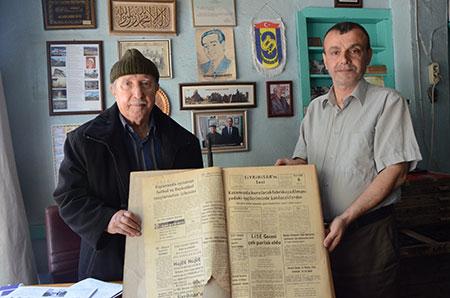 sivrihisar gazetesi matbaa - Anadolu'ya ilk Gelen Matbaa Makinesi