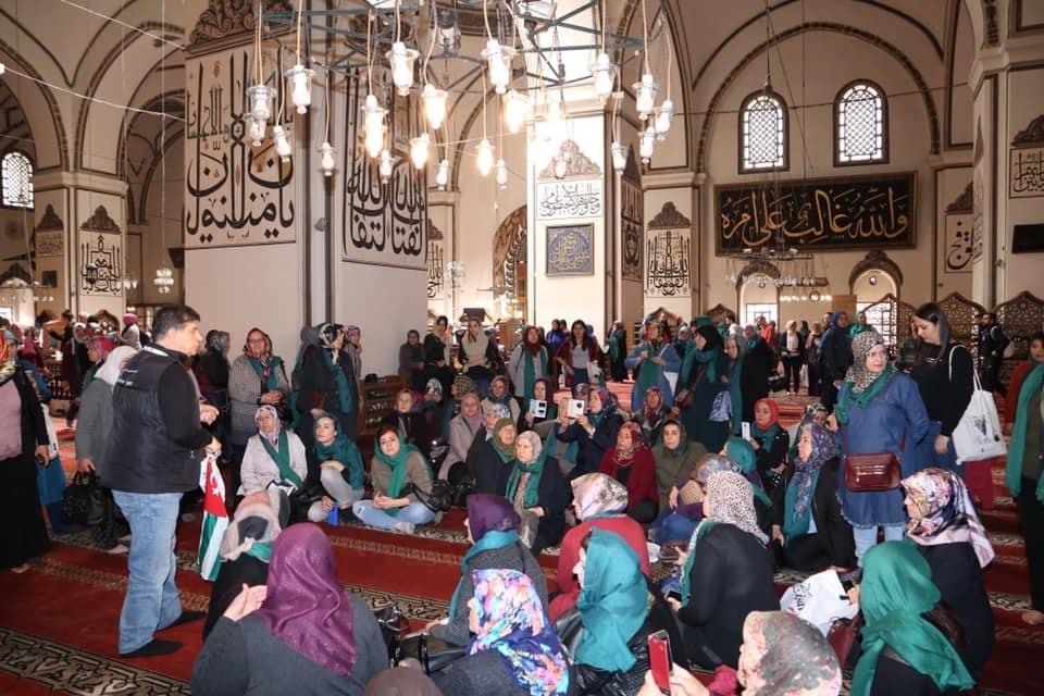 sivrihisar kadinlar bursa ulucami gezisi - Bursa Kültür Gezisi