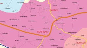 sivrihisar koyleri harita 300x168 - Sivrihisar Belde ve Köyleri