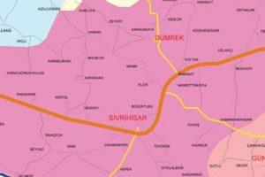 sivrihisar koyleri harita 300x200 - Sivrihisar Belde ve Köyleri