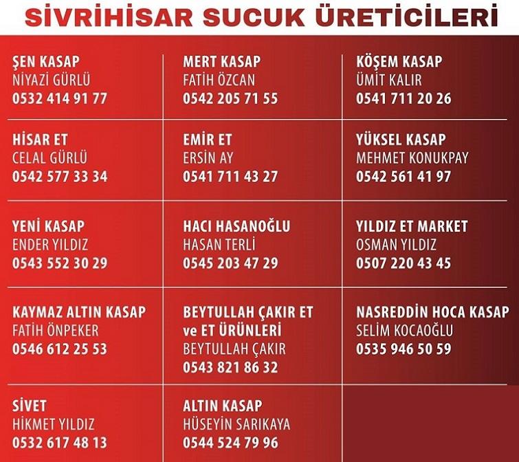 sucuk ureticileri - Sucuk Festivali İptal Edildi