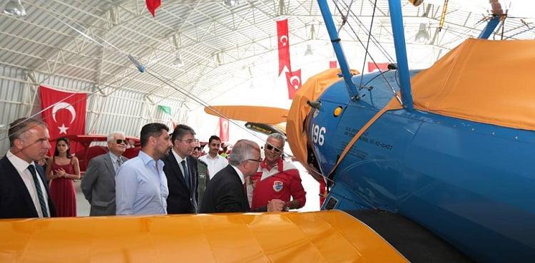 vali ziyaret 2 - Vali Tuna, Sivrihisar Havacılık Merkezini Ziyaret Etti