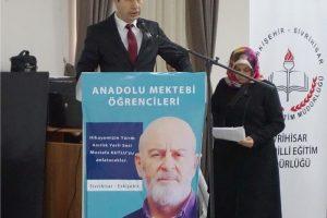 yazar okumalari paneli 300x200 - Anadolu Mektebi Yazar Okumaları Paneli