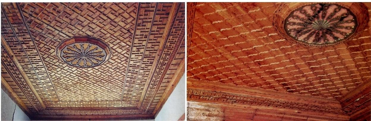 zaimoglu konak tavanlar - Sivrihisar Zaimağa Konağı